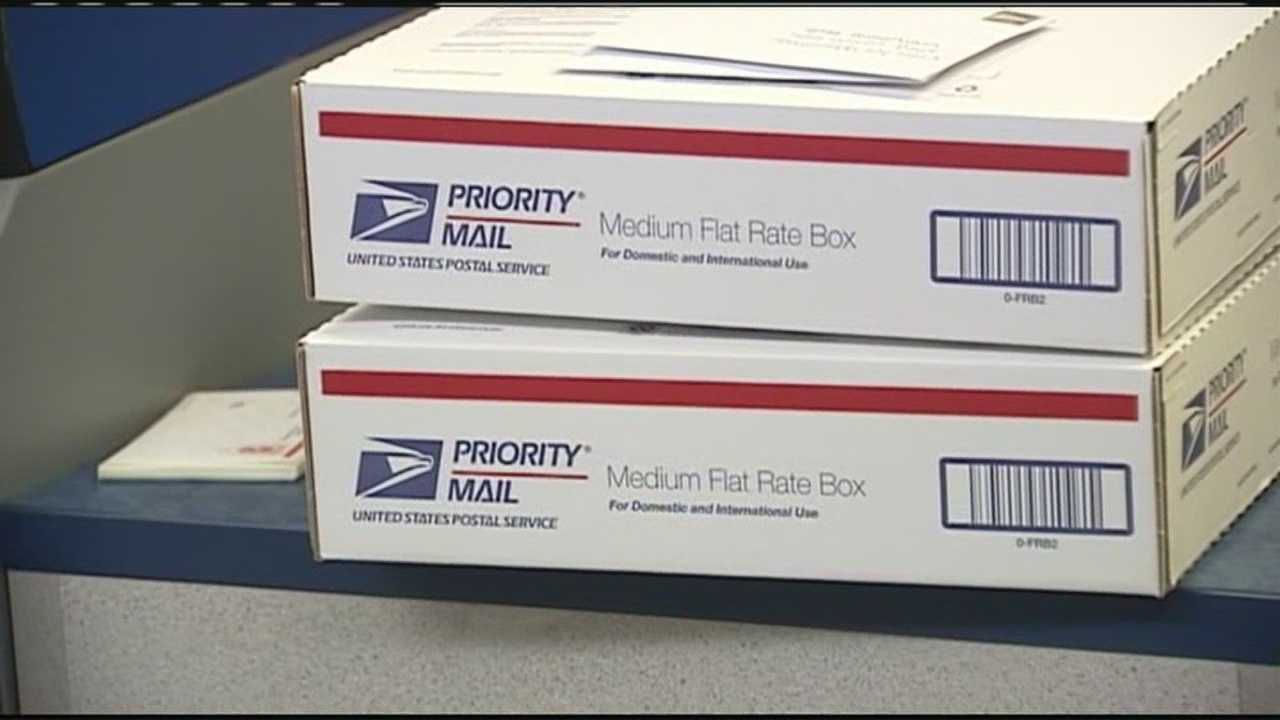Postal workers said Monday was the busiest day of the year even though there are still four days before the deadline to get holiday packages in the mail.