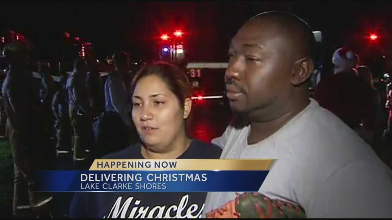 Family that lost everything in fire will have a proper holiday