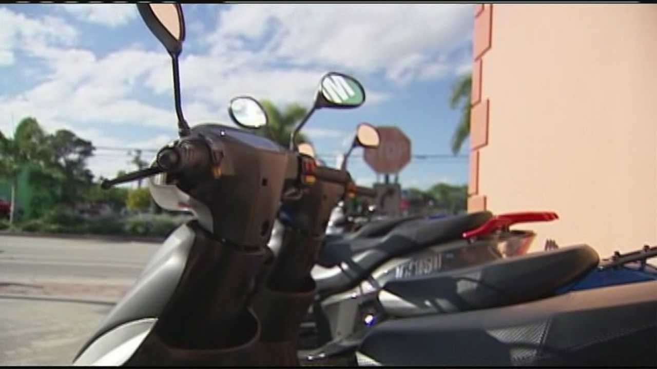 Police are keeping busy looking into dozens of scooter thefts in Delray Beach this year.