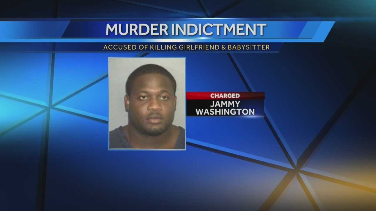 A suspect in the murder of a Pahokee woman and her babysitter has been indicted.