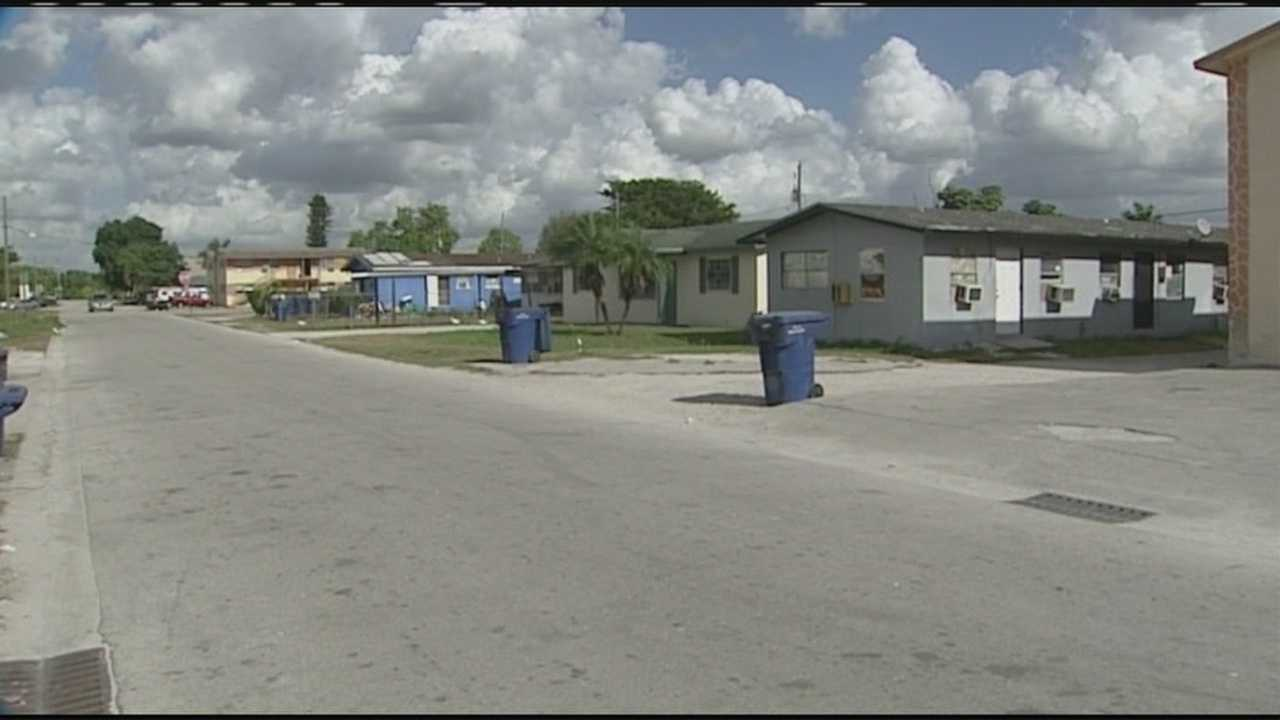 Frederick Carter was shot to death as he answered the door of his Belle Glade home.