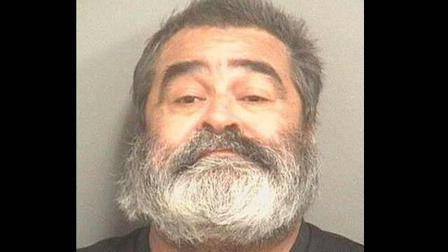 Jose Santana is accused of attacking another man with a cane.