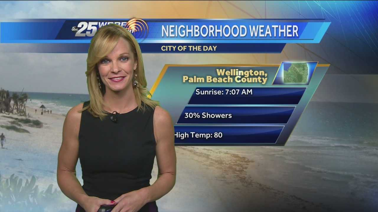 Sandra says keep your umbrella with you as there is a 30-percent chance of scattered showers throughout the day Friday.
