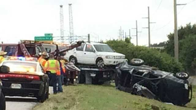 3 suffer serious injuries in Interstate 95 crash in Lantana