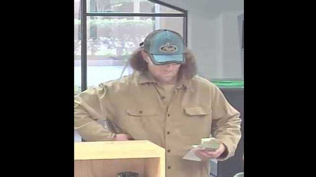 Detectives say this man robbed a TD Bank branch in Vero Beach.