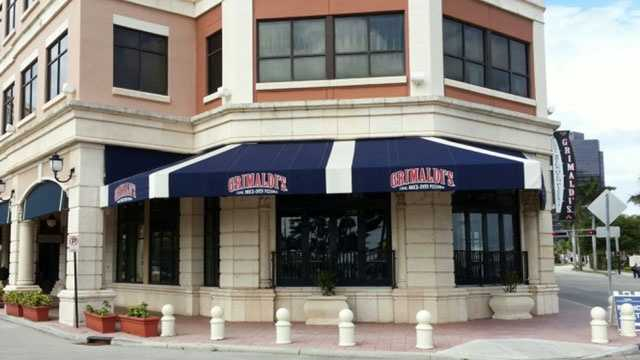 Grimaldi's on Clematis Street in dowtown West Palm Beach is closed.