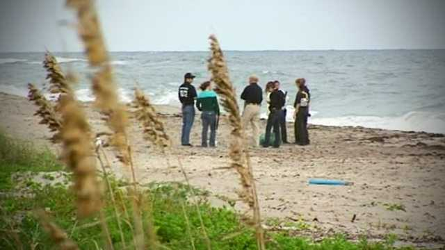 A woman was walking her dogs along the shoreline when she came across Patricia Harrison's body wrapped in a tarp.