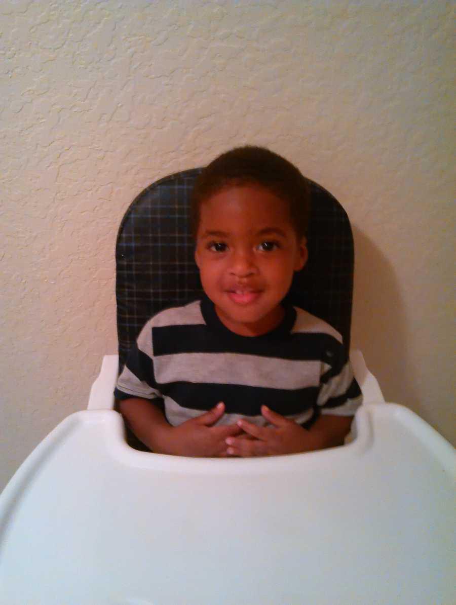 Joshiah Jackson is 2 1/2 years old