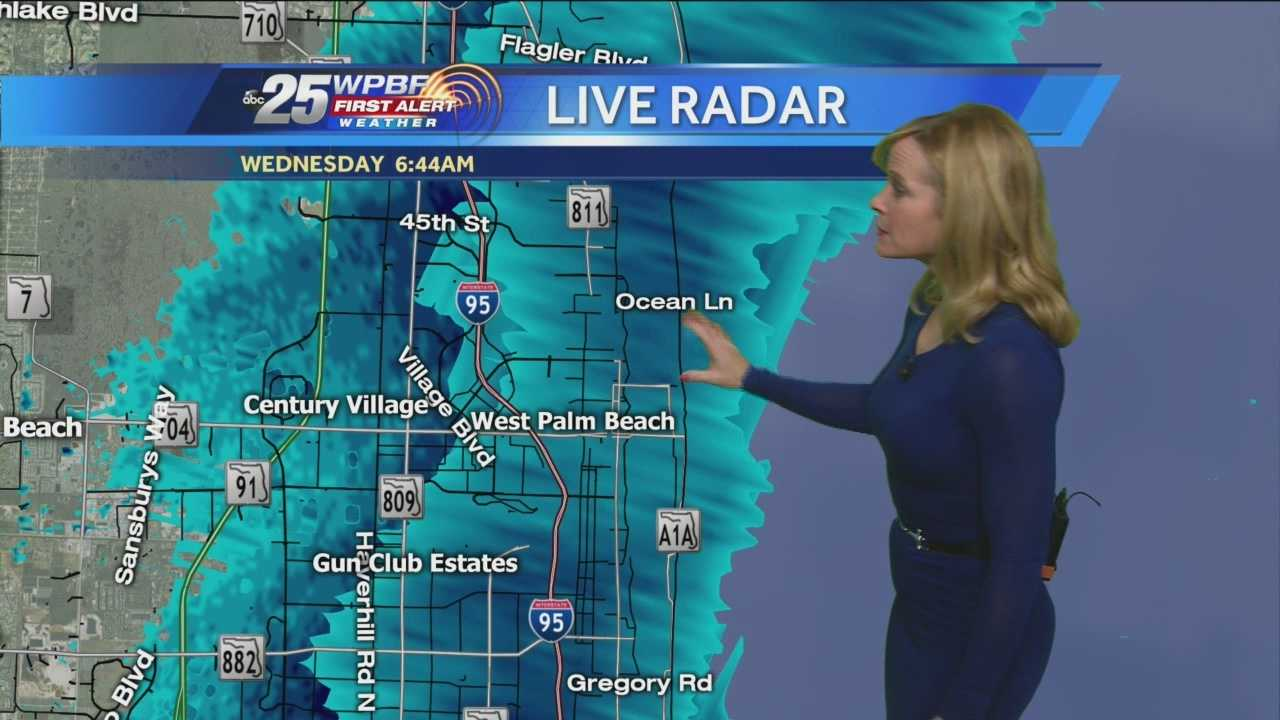 Sandra says to keep that umbrella and jacket with you Wednesday, as the chilly wind drives more rain through the region.