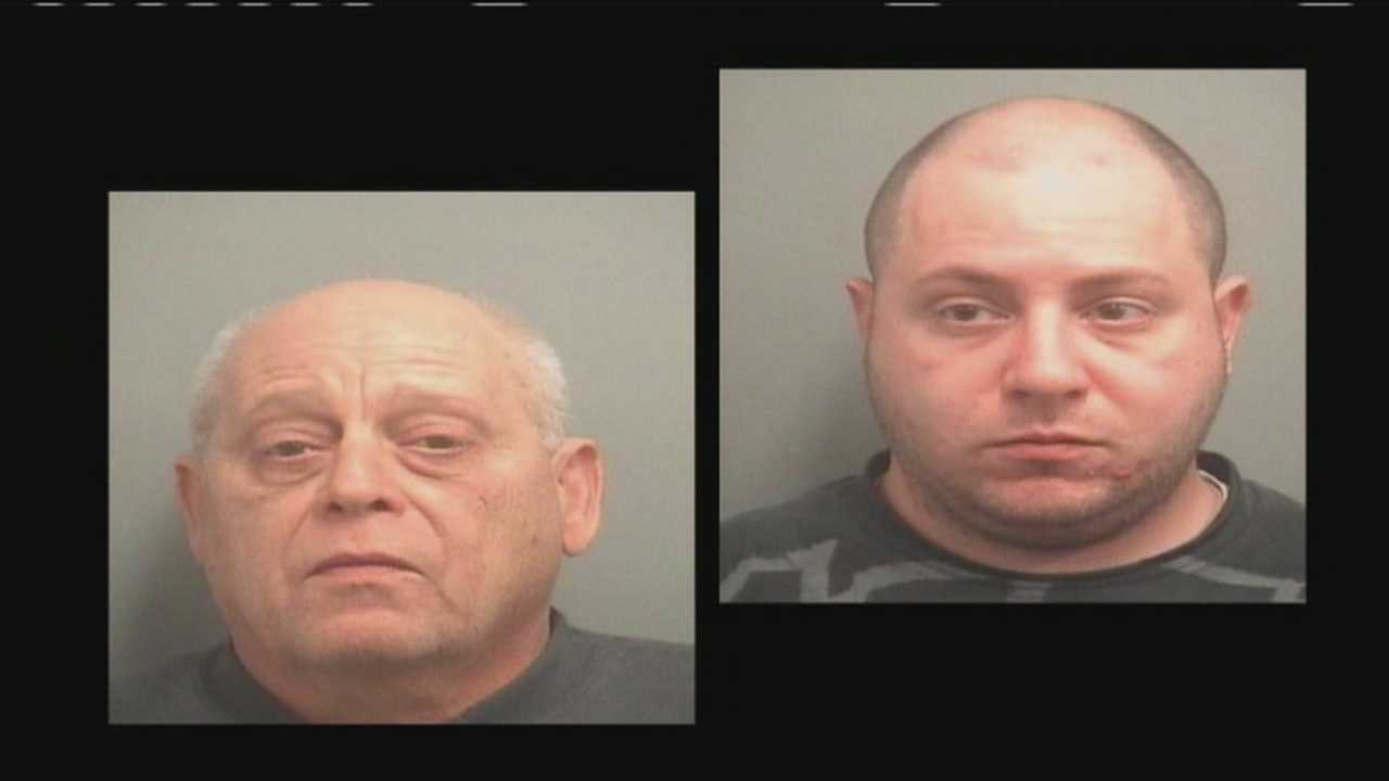 Leonard Hack, 63, and Louis Hack, 25, are both in the Palm Beach County Jail, accused of operating two grow houses in upscale neighborhoods of Delray Beach.