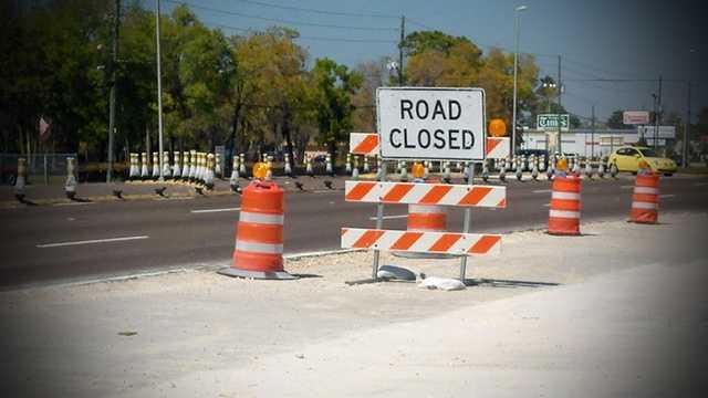 Generic Road Closed Flickr Sign