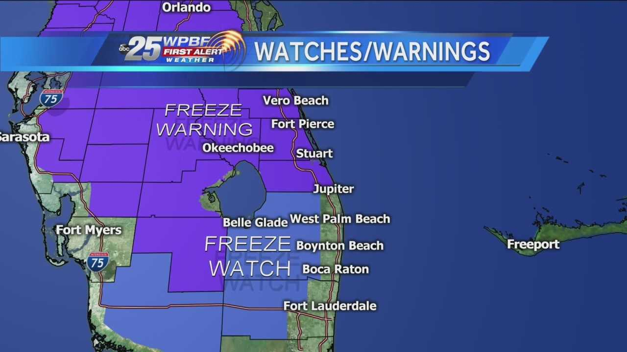 Freeze Watches Warnings
