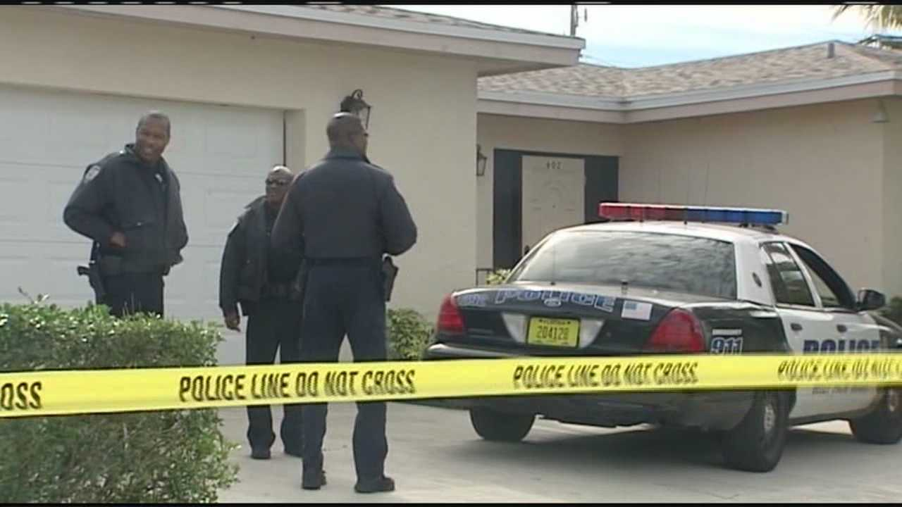 Police are at the home of former Palm Beach County Commissioner Maude Ford Lee.