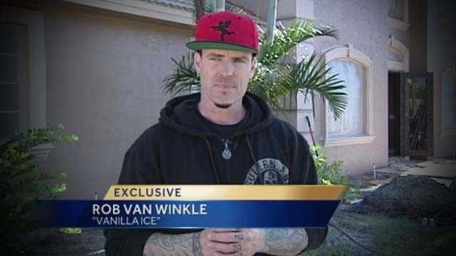 In an exclusive interview with WPBF 25 News' Terri Parker, rapper Vanilla Ice takes time out of his busy remodeling project to offer Justin Bieber some advice after his recent arrest in Miami Beach.