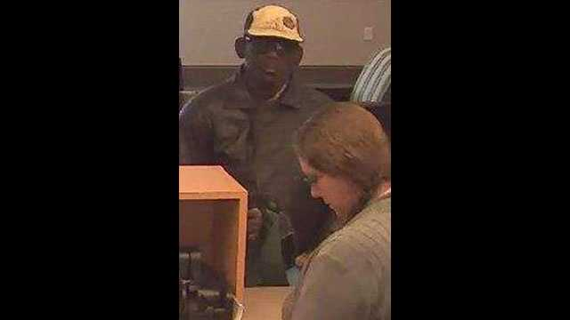 Police say this man robbed a TD Bank branch in Daytona Beach, but he left the money behind.