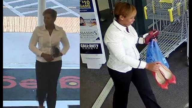 Woman with fraudulent transactions