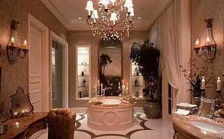 Unbelievable master bathroom.