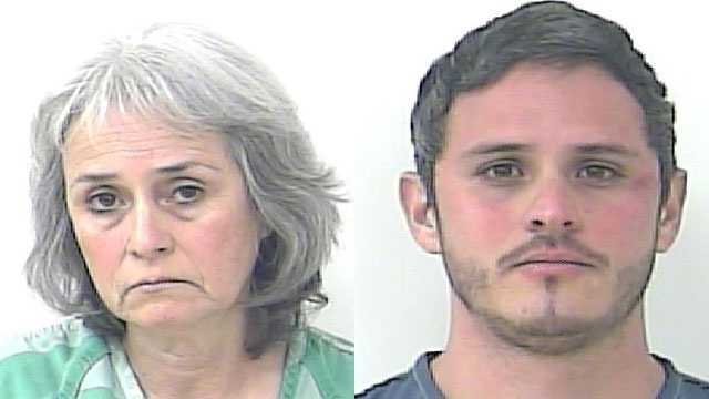 Maria Diez and Jaime Gomez were arrested on charges of elderly neglect.