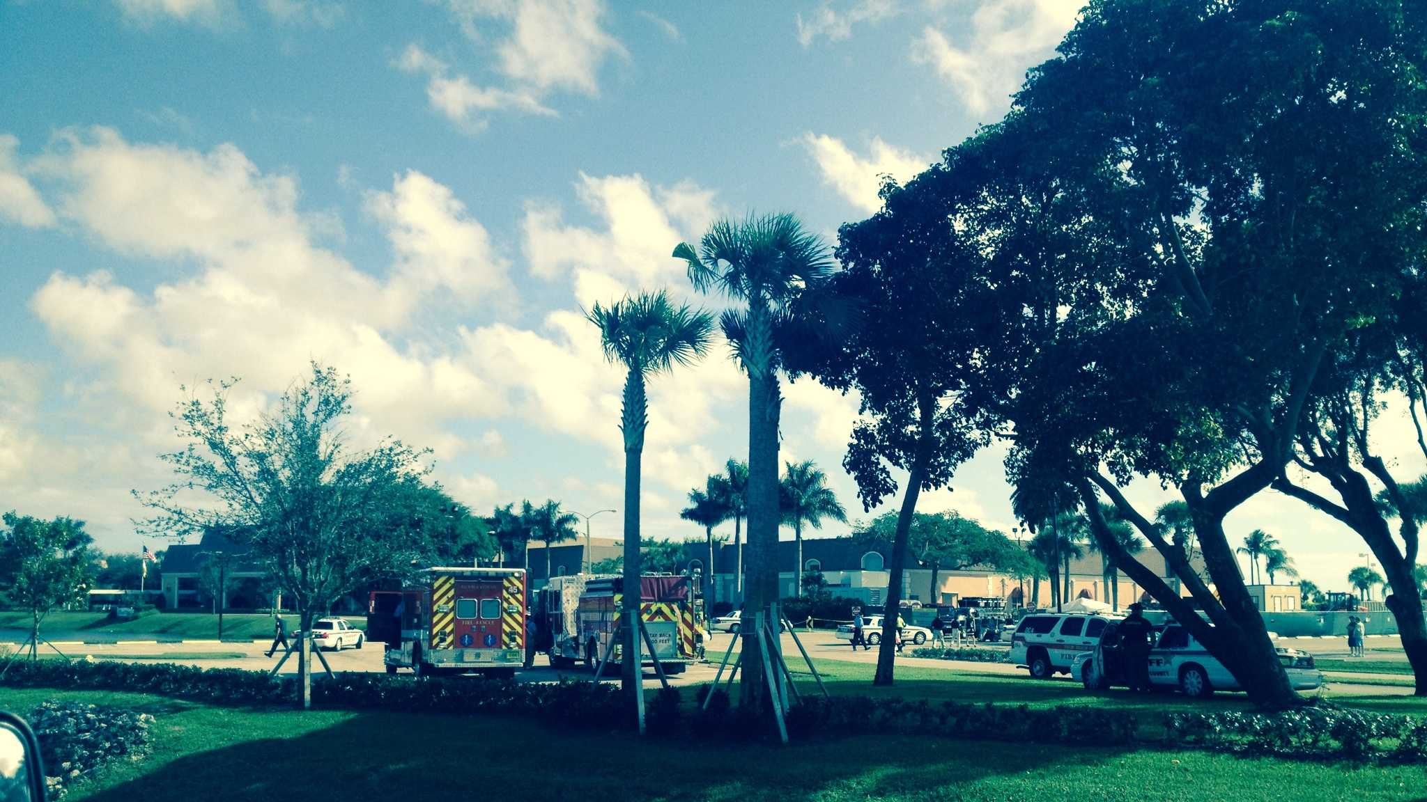 Someone reported that there was a bomb in the clubhouse of the Kings Point retirement community in Delray Beach.