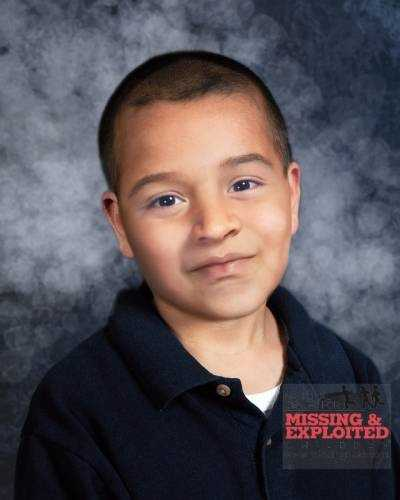 Bryan Dossantos-Gomes, age now 7: Missing from Fort Myers. Bryan's photo is shown age-progressed to 6 years. He was last seen Dec. 1, 2006 in the area of Estero, Florida. He may be in the company of a heavy set White/Hispanic female, approximately 28-30 years old, with long straight black hair, and last seen wearing blue jeans and a black blouse. They may be traveling in a two-door black Ford Explorer similar to the one pictured above. The companion is armed and should be considered dangerous.
