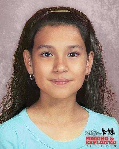 Fanny Narvaez, age now 11: Missing from Apopka. Fanny's photo is shown age-progressed to 10 years. She was last seen on August 2, 2007. Fanny may be in the company of her mother and a young child.
