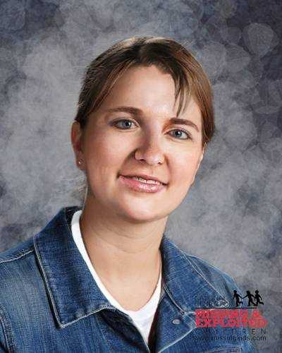 Kristy Rogers, age now 33: Missing from Crestview.  Kristy's photo is shown age-progressed to 31 years. She may be in need of medical assistance. Kristy's navel is pierced and has a lazy right eye. She was last seen on Aug. 2, 1997.
