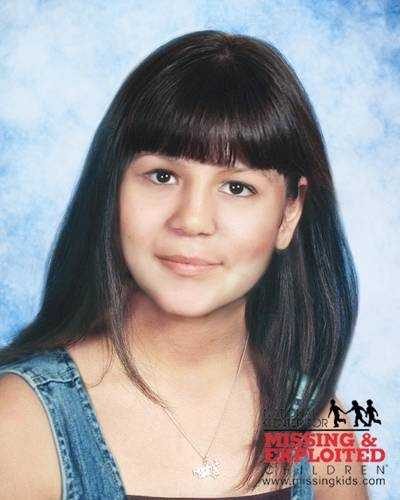 Ruby Sayre, age now 17: Missing from Tampa. Ruby's photo is shown age-progressed to 13 years. She was allegedly abducted by her mother, Bianka Teresa Salazar. An FBI Unlawful Flight to Avoid Prosecution warrant was issued for Bianka on June 13, 2002. They may have traveled to Texas or they may have left the country and traveled to Mexico. They are also believed to be traveling with another small child. Ruby has pierced ears. Bianka may use the alias names of Teresa Salazar, Bianka Sayre, Teresa Salazar Sayre, Teresa Reamsnyder, or Blanca Nunez.