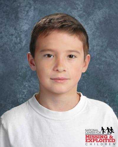 Trenton Duckett, age now 9: Missing from Leesburg. Trenton's photo is shown age-progressed to 9 years. He was last seen at approximately 7:00 p.m. on August 27, 2006. Trenton is Biracial. He is Asian and White. Trenton has a small mark over his left eye. He was last seen wearing denim shorts and a green and blue striped shirt.