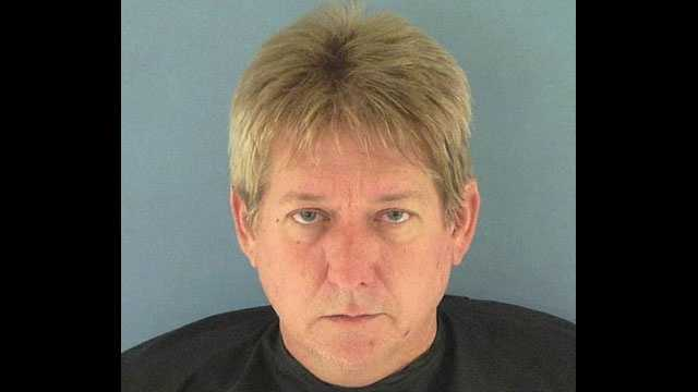 Brad Mims, a guidance counselor at the Okeechobee Freshman Campus, was arrested.