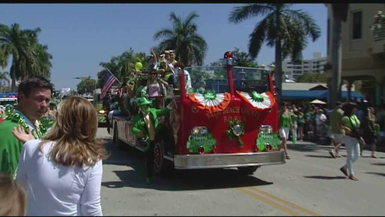 St. Patrick's Day parade Delray Beach 2013
