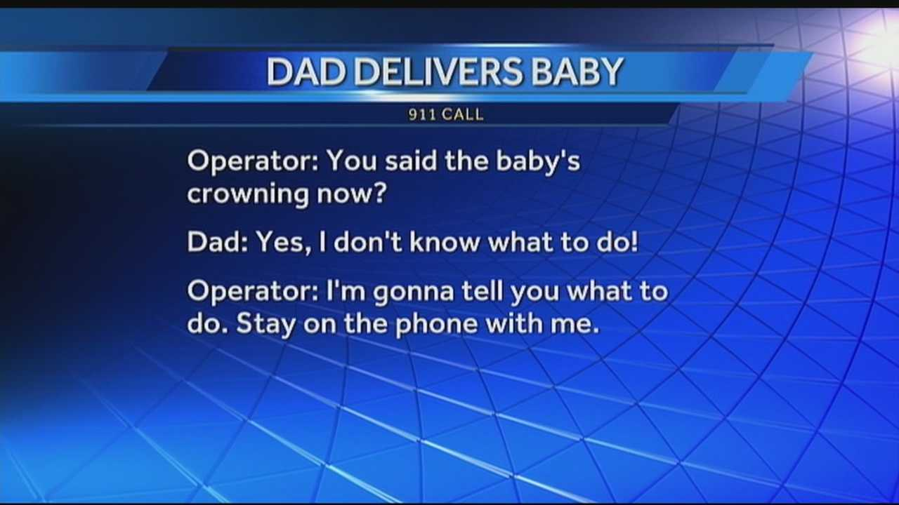WPBF 25 News got its hands on the 911 audio from last week's call in which a Palm Beach County dispatcher helped deliver a baby over the phone.