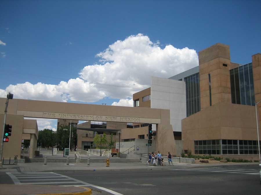 16) University of New Mexico, Albuquerque