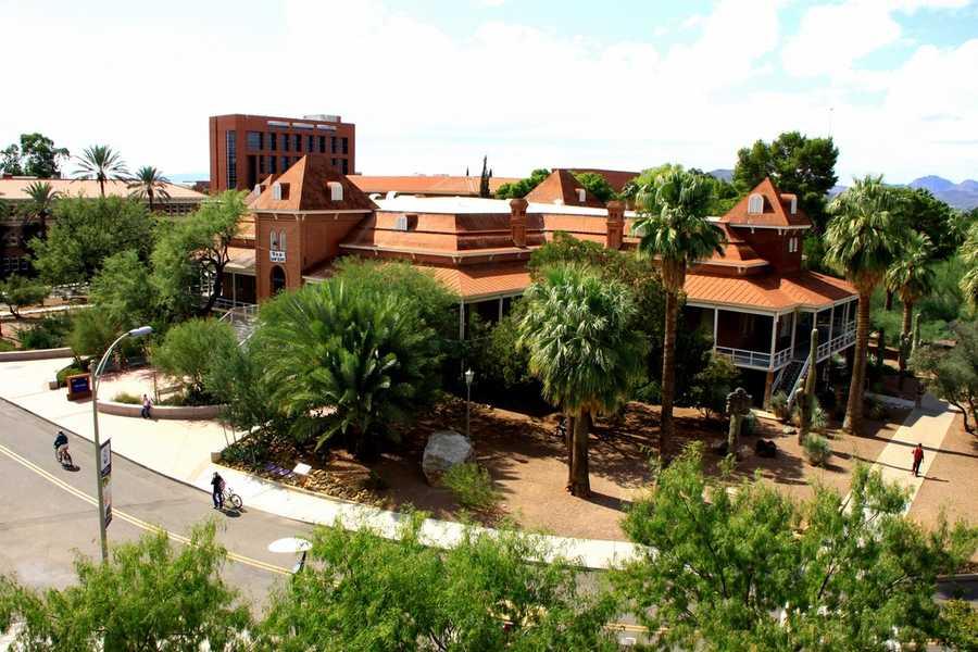 14) University of Arizona, Tucson