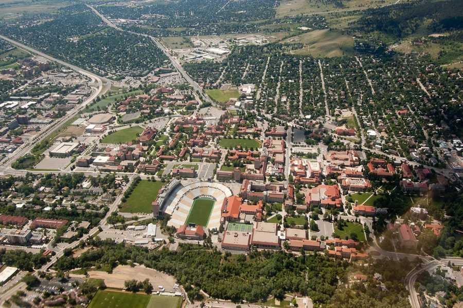 6) University of Colorado, Boulder