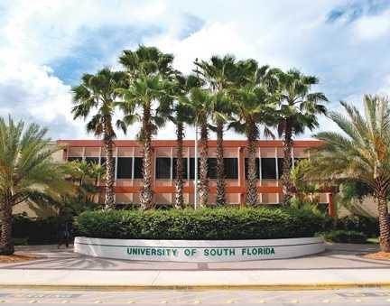 13) University of South Florida, Tampa