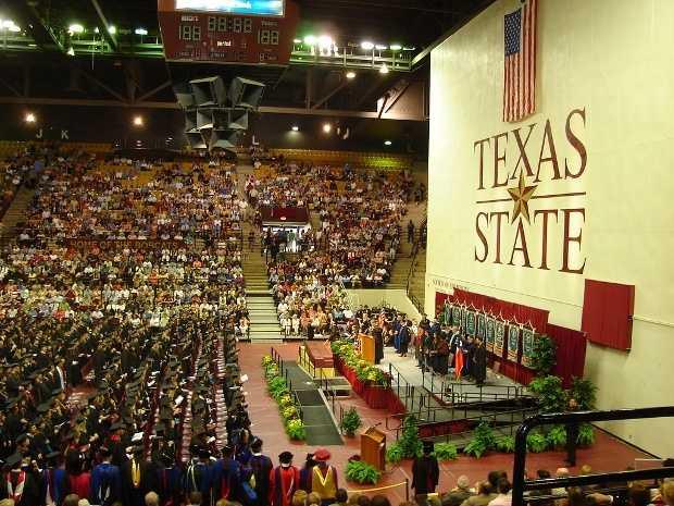 10) Texas State University, San Marcos