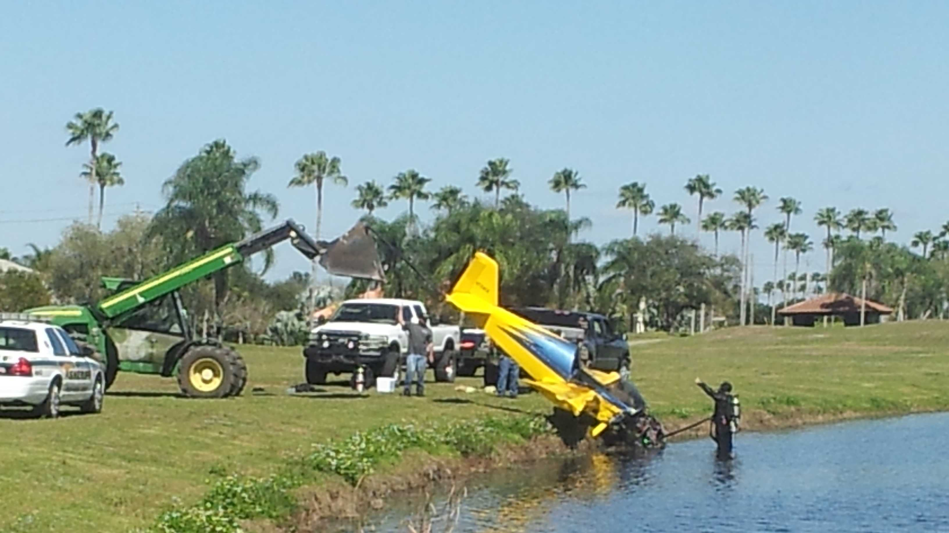 NTSB and FAA crews on Tuesday arrived at the scene of a plane crash that killed a pilot Monday in Wellington.