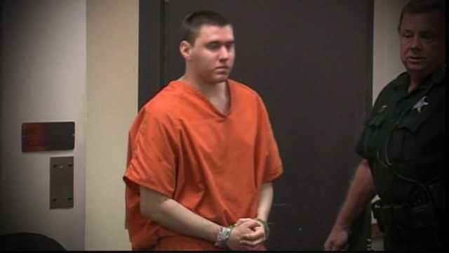 Tyler Hadley learns his sentence in court Thursday.