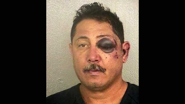 David Gonzalez was arrested following a confrontation with deputies in Deerfield Beach on Tuesday.
