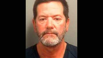 Richard Blais is accused of stabbing two men after an argument in Jupiter on Thursday night.