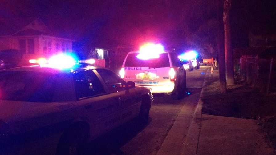 Man shot leaving mother's home