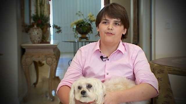 Simon Goldman, just 11, invented a shampoo for pets that's becoming so popular that it was part of the gift bag for Oscar nominees Sunday night.