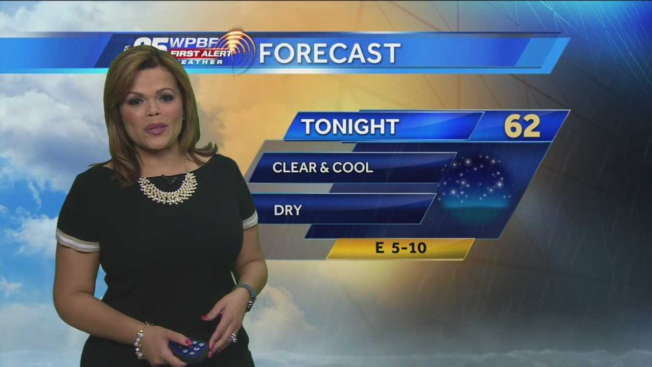Felicia says the comfortable stretch of weather will continue around town Sunday. And Monday!