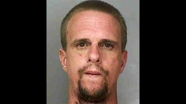 Michael Lee Hobbs is accused of stabbing his mother to death in Winter Haven.