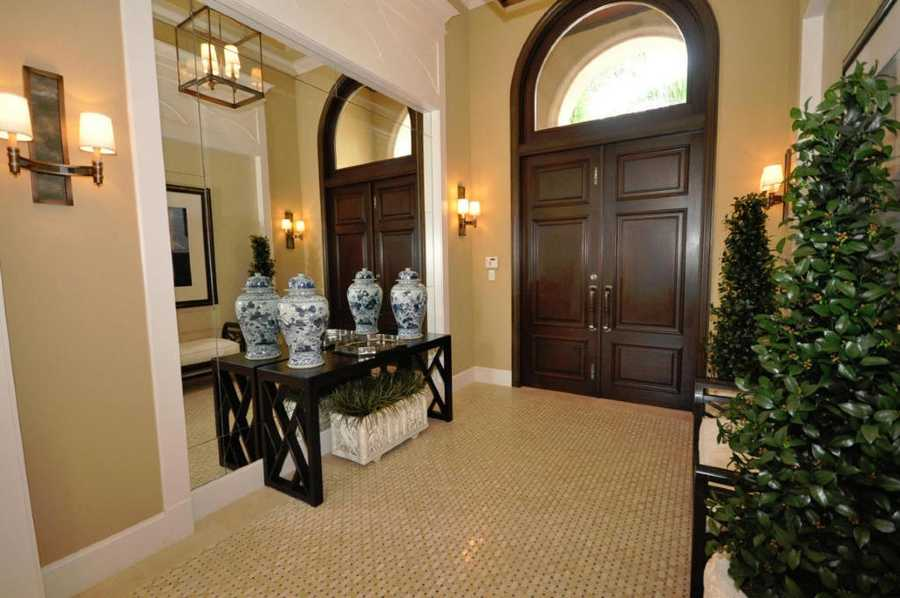 Impeccable decor greets you at the foyer.