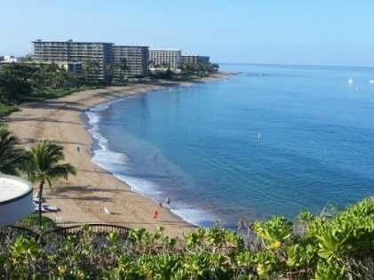 2. Ka'anapali Beach, Lahaina, Hawaii
