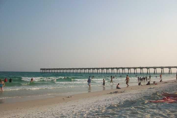 19. Pensacola Beach, Pensacola, Florida