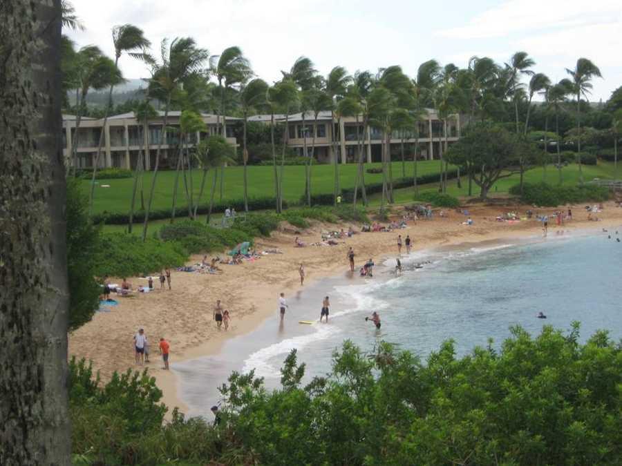 24. Kapalua Beach, Kapalua, Hawaii