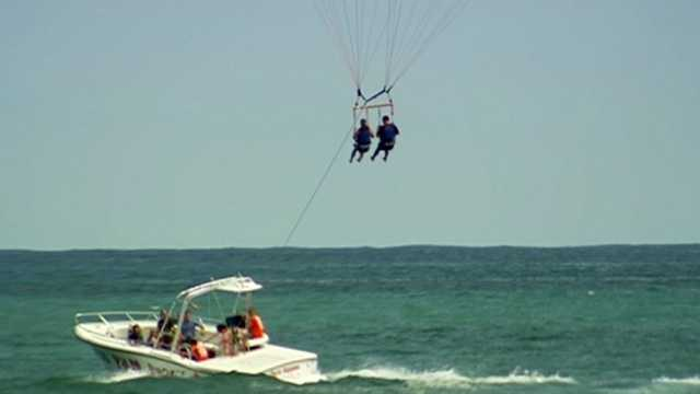 Image Local company wants to know how parasailing regulations would be enforced