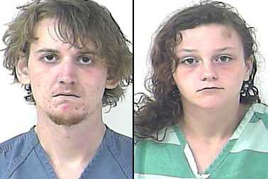 Hayden Hope (left) and Aurelia Walker are charged with attempted murder, among other crimes.